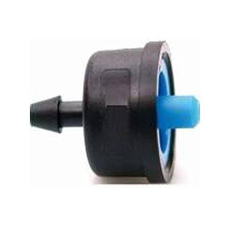Kit 10 unidades - Gotejador Botao Normal Idrop 2 Litros Horas Azul