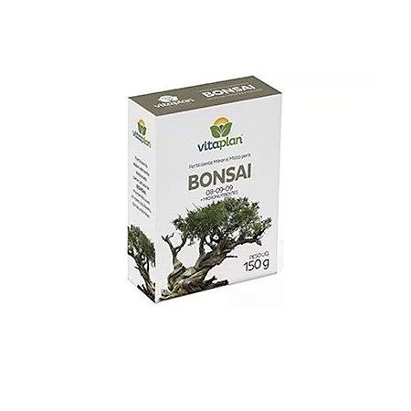 Fertilizante Mineral Misto Bonsai 150G 08-09-09 + Nutrientes Nutriplan