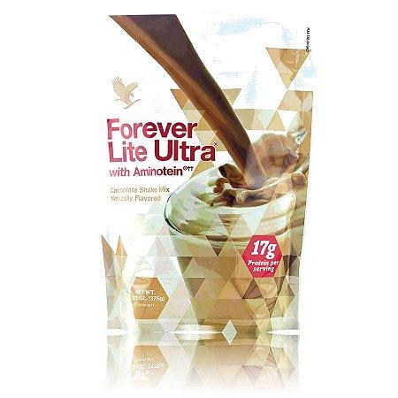 Forever Lite Ultra, Shake de chocolate com Aminotein (NOVO Sache 375g)