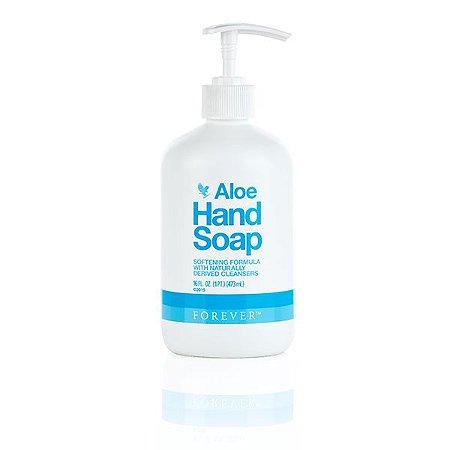 Aloe Hand Soap, (Sabone líquido para as mãos, a base de Aloe Vera)