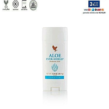 Aloe Ever-Shield Deodorant, +5% cupom, Desodorante de Aloe Vera, não contém Sais de Alumínio