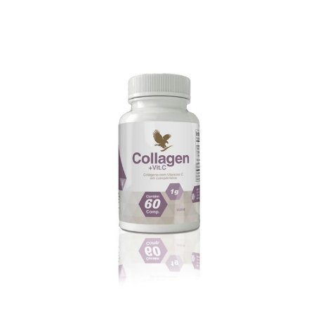 Collagen, +5% cupom (colágeno tipo 1 e 2 + vitamina C ionizada)
