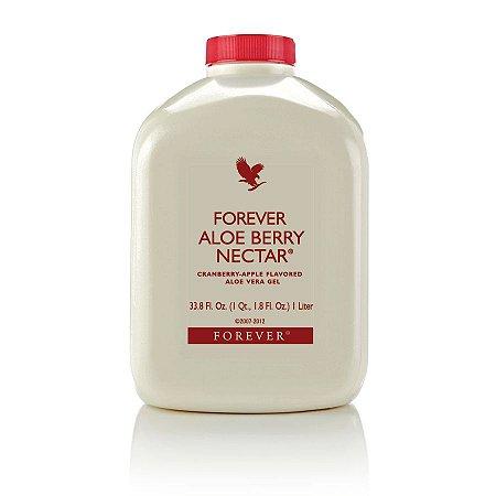 Forever Aloe Berry Nectar, +5% cupom, 88% de Aloe Vera mais o Granberry, 1 litro
