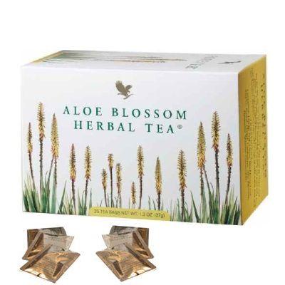 Aloe Blossom Herbal Tea (Chá de ervas, flores da Aloe vera)