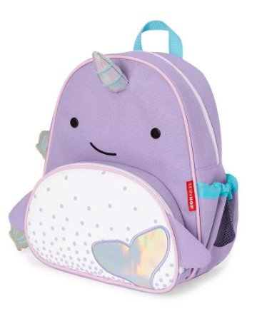 MOCHILA INFANTIL NOVA NARWHAL - ZOO COLLECTION