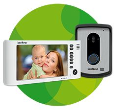 IV 7010 HF Kit Video Porteiro viva voz Intelbras