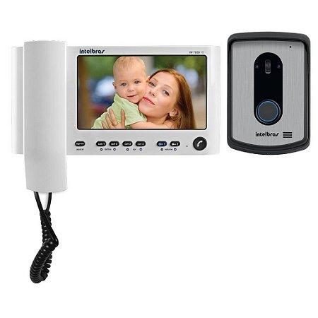 """Vídeo porteiro com monofone e tela 7"""" até 04 canais de vídeo IV7010HS - Intelbras"""