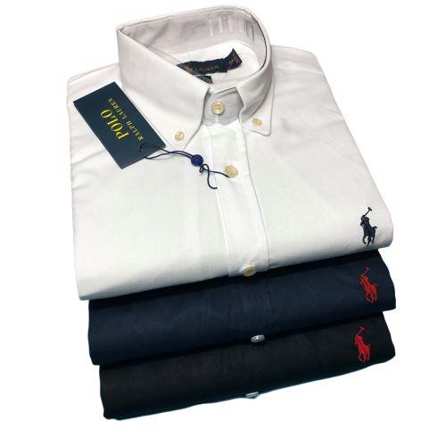 Kit 3 Camisas Sociais Ralph Lauren