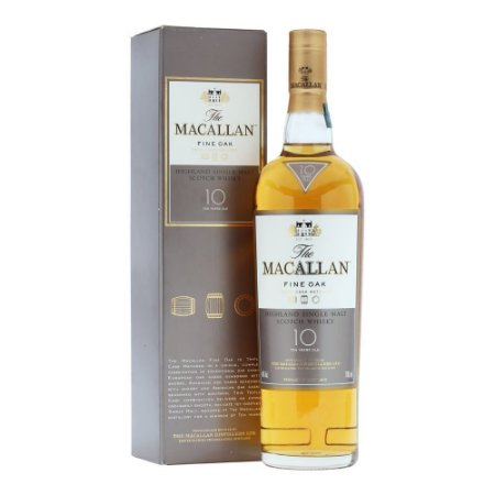 Whisky The Macallan 10 Anos Fine Oak - 750ml