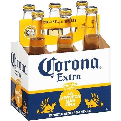 158fd149e0 Cerveja Corona Extra - 355 ml - Caixa com 6 unidades - Bebidas BH ...