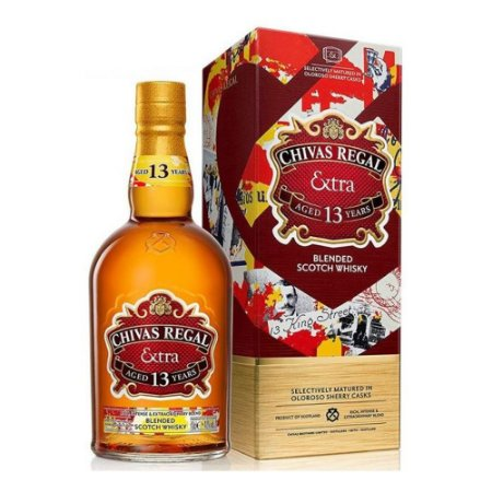 Whisky Chivas Regal 13 anos Extra - 750 ml