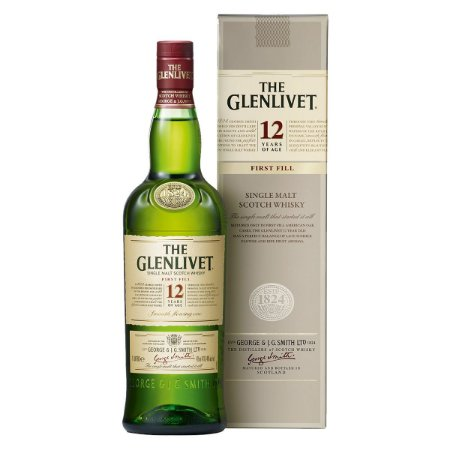 Whisky The Glenlivet 12 Anos - *1L