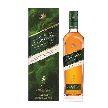 Whisky Johnnie Walker Island Green - 1L