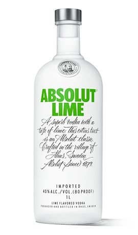 Vodka Absolut Lime - 1L