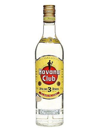 Rum Havana Club 3 Anos - 750 ml