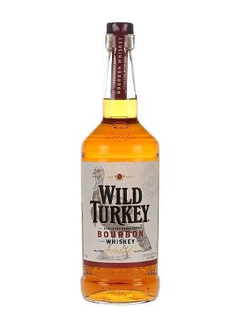 Whiskey Wild Turkey 81 Proof Bourbon - 1L
