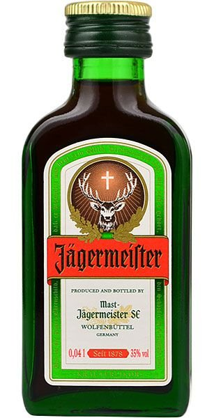 Miniatura Licor Jagermeister - 40 ml