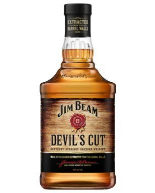 Whiskey Jim Beam Devil´s Cut - 700 ml  * Grátis Whiskey Tumbler