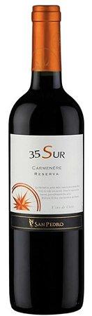 Vinho 35 Sur Reserva Carmenere (Chileno) - 750ml