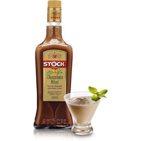 Licor Stock Chocolate com menta- 720 ml