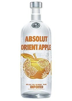Vodka Absolut Orient Apple - 1L