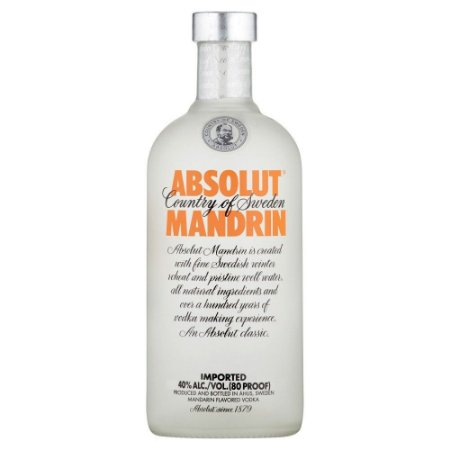 Vodka Absolut Mandrin - 1L