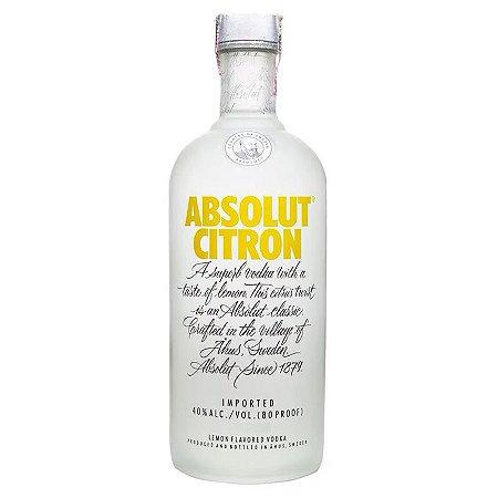 Vodka Absolut Citron - 1L
