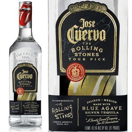 Tequila José Cuervo Silver Edição Limitada The Rolling Stones - 750ml