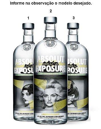 Vodka Absolut Exposure - 1L