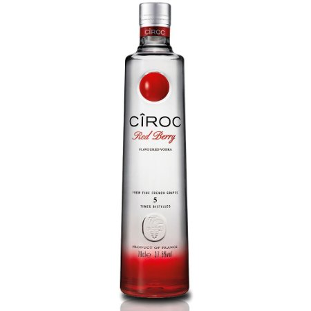 Vodka Ciroc Red Berry - 750ml