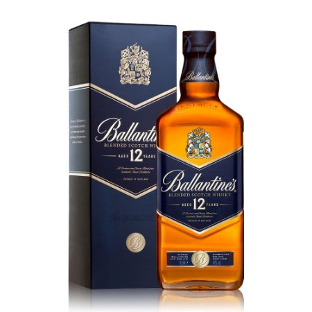 Whisky Ballantine's 12 anos - 1L