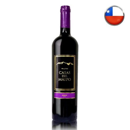 Vinho Casas Del Maipo Reserva Merlot - 750ml