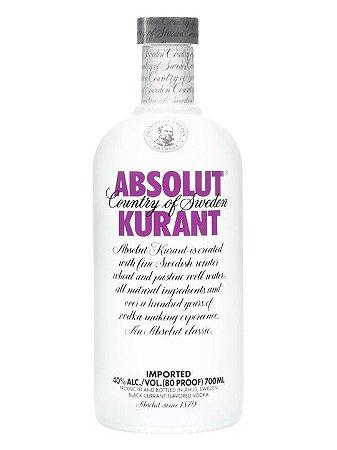 Vodka Absolut Kurant - 1L