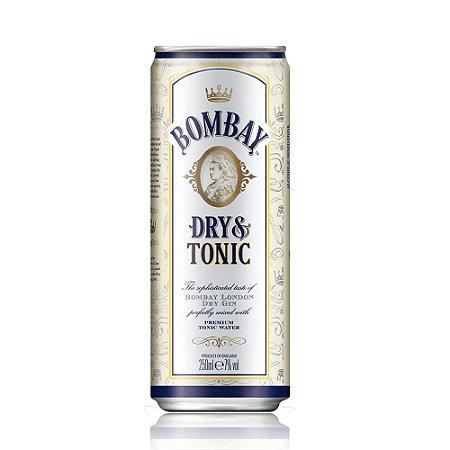 Bombay Dry Gin & Tonic lata - 250ml