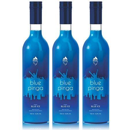 Combo triplo Blue Pinga - 750 ml