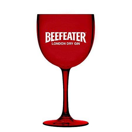 Taça Gin Beefeater - Acrílico - Vermelha - 580 ml