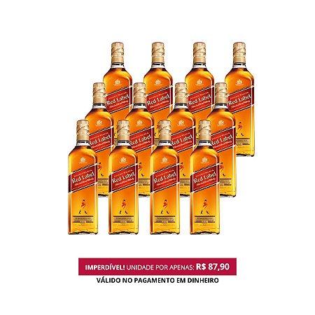 Whisky Red Label - 1L - 1 Cx. / 12 Und.