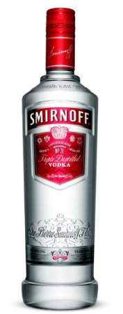 Vodka Smirnoff Red - 1L