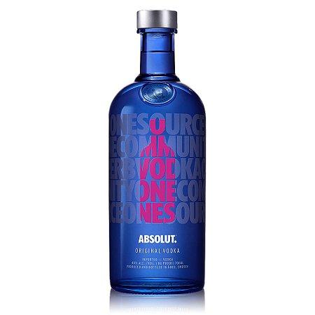 Vodka Absolut Drop of Love - 1L