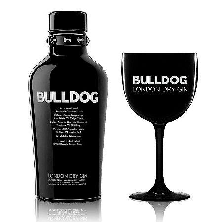 Gin Bulldog 1L + Taça personalizada