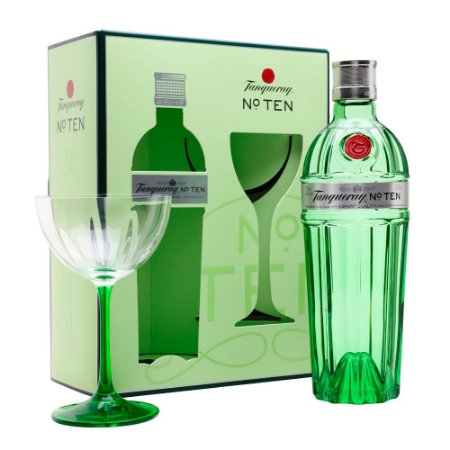 Kit Tanqueray Ten 700 ml + Taça Oficial