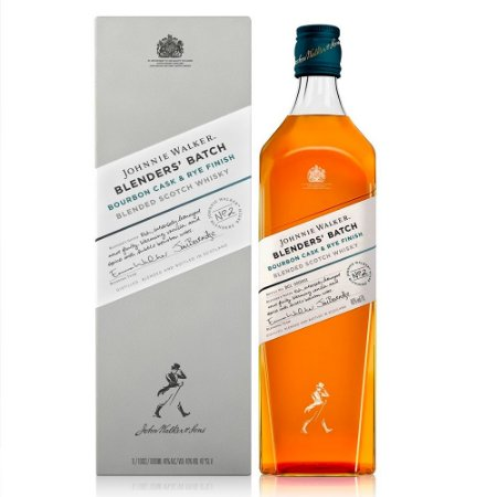 Whisky Johnnie Walker Blenders´Batch - Bourbon Cask e Rye Finish - 1 Litro