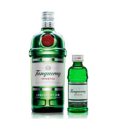 Gin Tanqueray 1L + Miniatura 50 ml