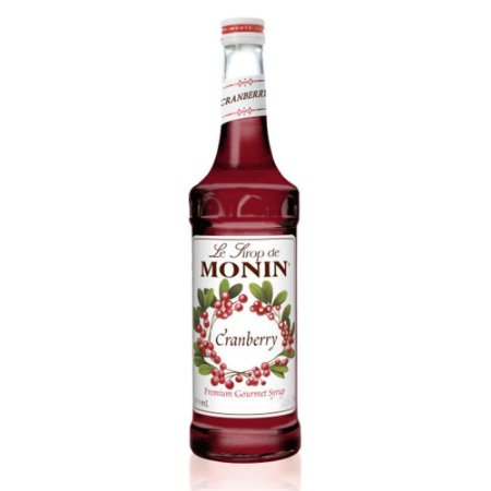 Xarope Monin Cranberry (Airelles) - 700 ml