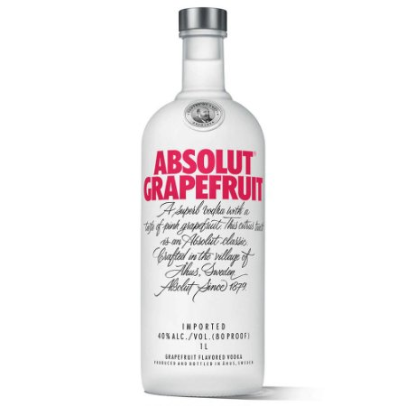 Vodka Absolut Grapefruit (Toranja) - 1L