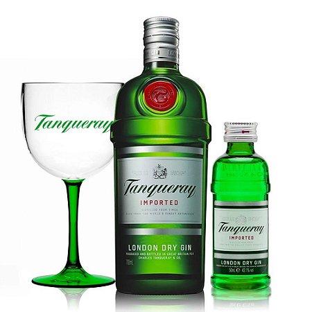 Combo Power Trio Tanqueray: Gin 700 ml + Taça + Mini