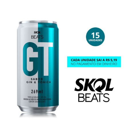 Skol Beats GT Anitta - 269ml Fardo - 15 unidades