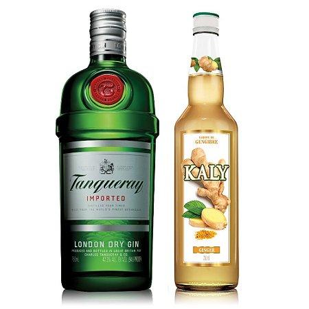Kit Ginger Gin : Kaly Gengibre 700ml + Gin Tanqueray 750ml