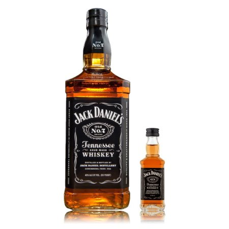 Whiskey Jack Daniel´s - 1L + Mini Jack - 50 ml