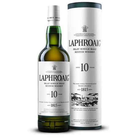 Whisky Laphroaig 10 anos - 750 ml